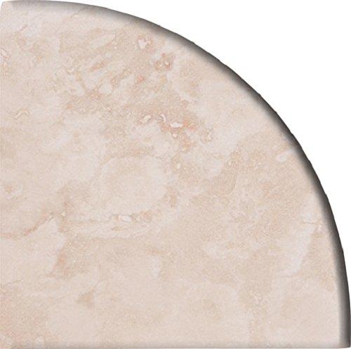 delicate Crema Marfil Premium Spain Polished Marble Accessories Tiles 1 PIECE (CORNER SHELF 9x9)