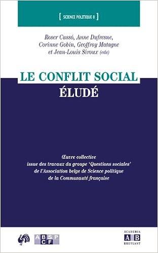 Livre Le conflit social éludé pdf epub
