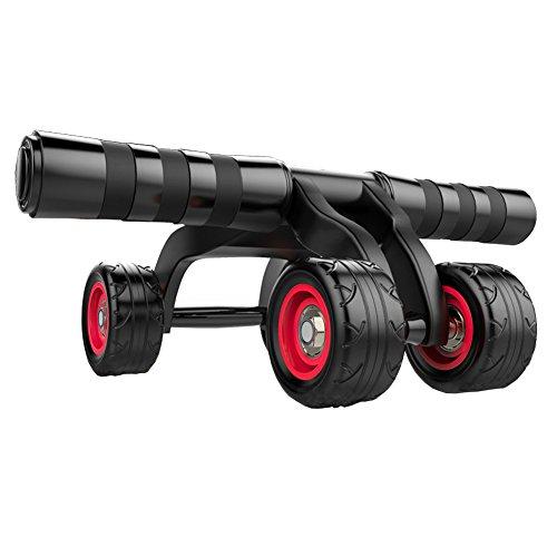 Roue Abdominaux AB Wheel Roller de Fitness Musculation Appareil ABS Tapis Epais