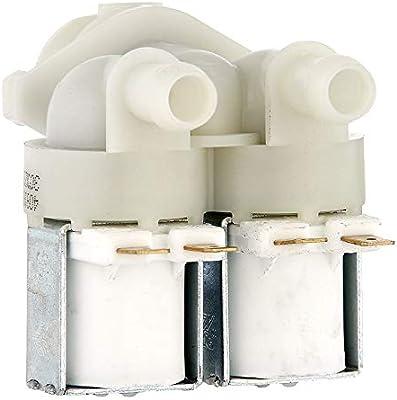 As Direct Ltd TM - Válvula solenoide universal doble de 180 grados ...
