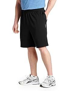 Reebok Big & Tall Play Dry Tech Mesh Shorts (1XL, Black)
