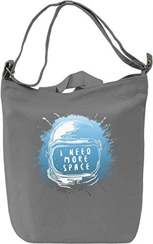 I Need More Space Borsa Giornaliera Canvas Canvas Day Bag| 100% Premium Cotton Canvas| DTG Printing|