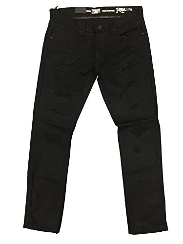 Jordan Craig Black Legacy Edition Raphael Jeans (42x32, Jet Black) by Jordan Craig