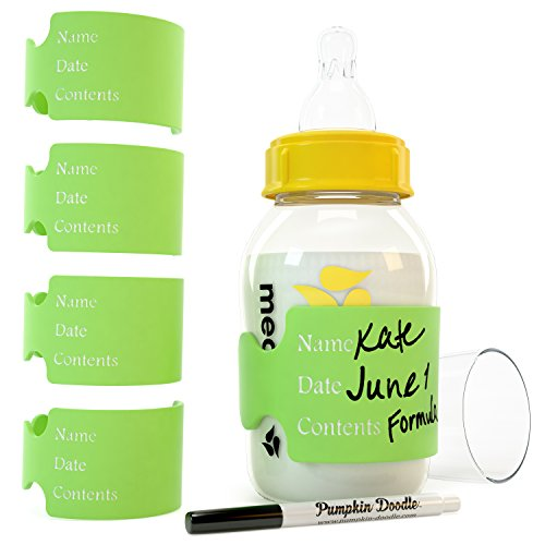The Original Write & Reuse Baby Bottle Labels for Daycare - Available in 11 -