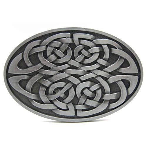 Clothing Medieval Celtic - Western Belt Buckle Keltic Celtic Knot Scottish Vintage Medieval Cowboy Belt Buckle Buckle for Men&Women