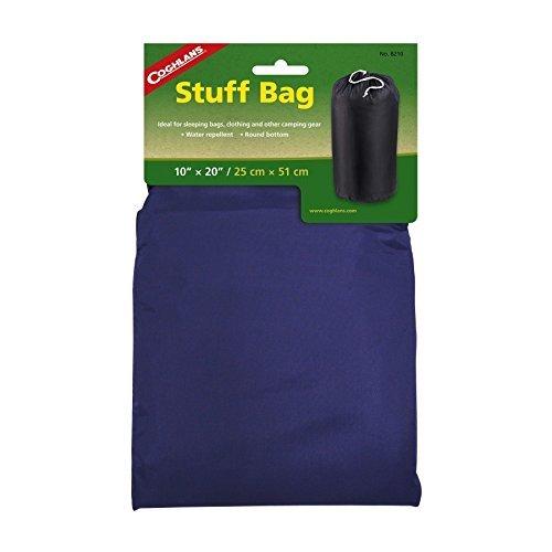Bag Coghlans Stuff (Coghlans Stuff Bag - Black, 10 Inch by Coghlans)
