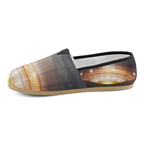 D-story Mode Sneakers Lägenheter Kvinna Klassisk Slip-on Tygskor Loafers Multi5