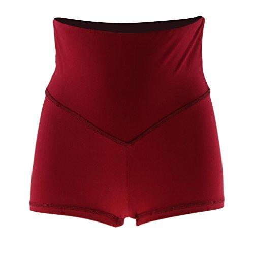 Yoga Palestra Di Donna Sportivo Vino Pantaloncini Baoblaze Ragazze Della Moda Shorts x0TnTqXz