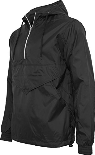 Classics Urban Over Nero Windbreaker Pull Uomo black Giacca z8ZBq8x
