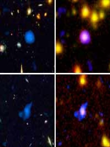 Spitzer Leads NASA's Great Observatories to Uncover Black Holes, Other Hidden Objects in the Distant Universe