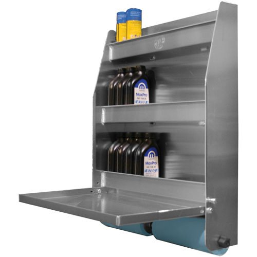 Pit Pal Products 320A 27'' X 32'' X 6.75'' Trailer Door Cabinet by Pit Pal Products