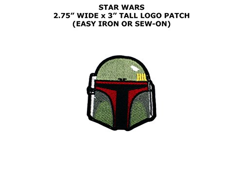 Adult C3p0 Costumes (Star Wars Boba Fett Helmet Sci-Fi Embroidered Iron/Sew-on Comic Cartoon Theme Logo Patch/Applique)