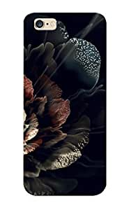 Hot Snap-on Sparkling Fractal Flower Hard Cover Case/ Protective Case For Iphone 6 Plus