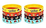 24 Count PokeRubber Bracelet Wristband - Birthday Party Favors Supplies