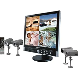 """Samsung 8-Channel Observation Systems With DVR And 19"""" LCD Monitor"""