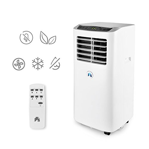 Take Generator Along Power (JHS 8,000 BTU Portable Air Conditioner Portable AC Unit, A019-8KR/A Remote Control Small Air Cooler Dehumidifier with Timer, Sleep Mode and 2 Fan Speed)