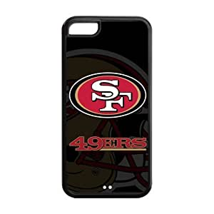 BESTER Iphone 5C Covers San Francisco 49ers logo hard Case Cover