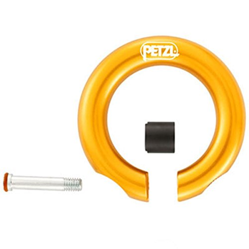 Petzl - Ring Open Multi-Directional Gated Ring for Climbing by Petzl