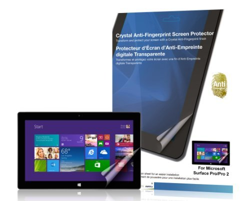 Green Onions Supply Anti-Fingerprint Screen Protector for Microsoft Surface (RT-SPMSP0201AF)