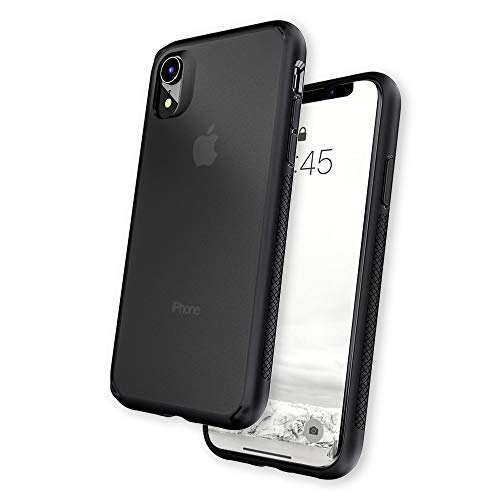 Caudabe Synthesis iPhone XR [Slim], [Rugged], [Protective] iPhone XR Case (Stealth Black)