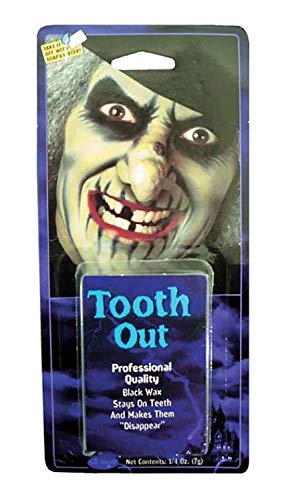 MA ONLINE Unisex Pirate Witch Tooth Blackout Wax