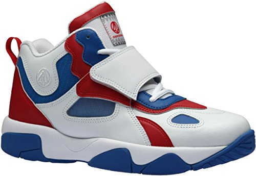 Velcro Top Paperplanes Fashion Blue Red Mid Shoes Sneakers 1354 White Unisex AxwqpOwF