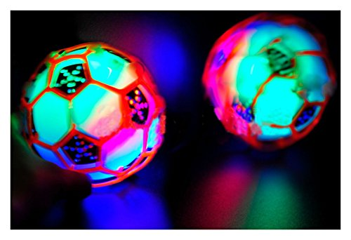 Bestee LED Jumping Fusion Ball Dancing Vibrating Flashing Blinking Toy Best Selling Prod Glow In The Dark from Unbranded