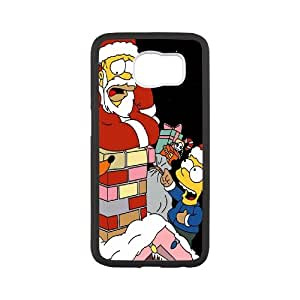 Christmas series Phone Case funny simpson For Samsung Galaxy S6 NP4K00803