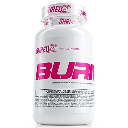 SHREDZ Fat Burner Supplement Pill for Women