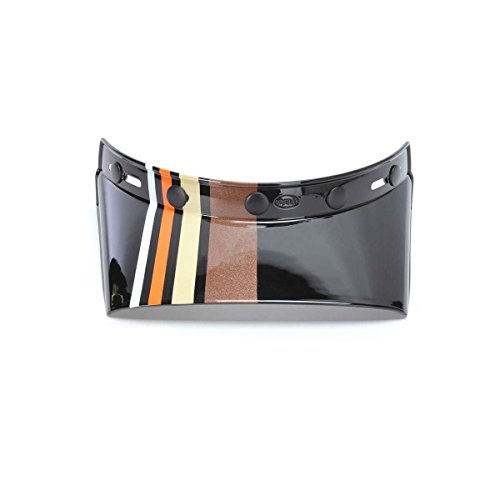 Bell Powersports MOTO-3 550 Stripes Helmet - Replacement Visor - Black/Orange - 7086423 by Bell