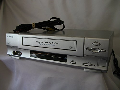 Tv Toshiba Tuner (Toshiba W525 4-Head Hi-Fi Stereo VHS VCR Player/Recorder)