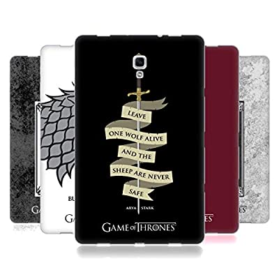 Official HBO Game of Thrones Graphics Soft Gel Case for Samsung Galaxy Tab A 10.5 (2018)