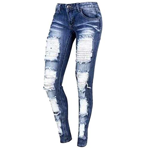 Sfit Dchirs Elasticit Slim Femme Pantalons Jeans 4qYw64S