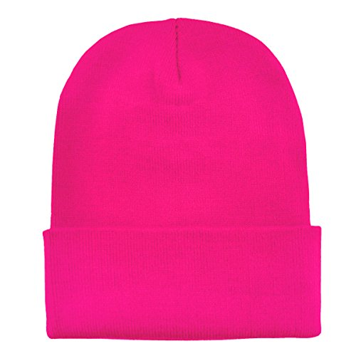 Moderno Diseño De Abrigo Gorro Suave Rosa Clásico Dondon Y Neón Invierno OwIq7CxnY