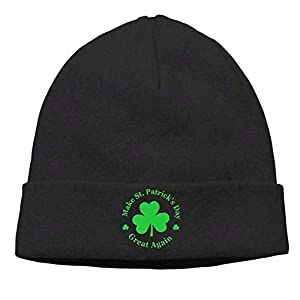 1901c5d0c9d KLSMM Women and Men Make ST Patricks Day Great Again Beanie Winter Warm  Knitting Hats