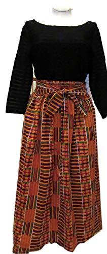 African skirt #1, Women's Kente skirt, African skirt, Ankara skirt, African women's clothing, African Fabric skirt, Afrocentric