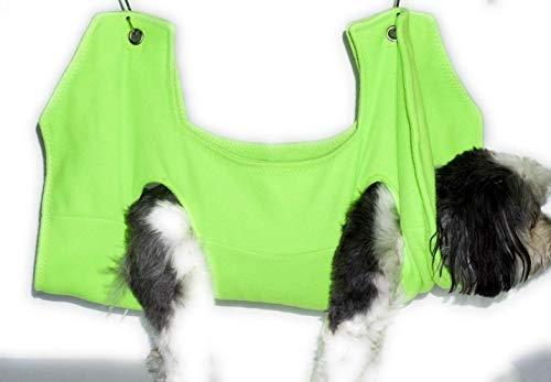Hammock Helper Dog/Cat Grooming Hammock - Lime Green