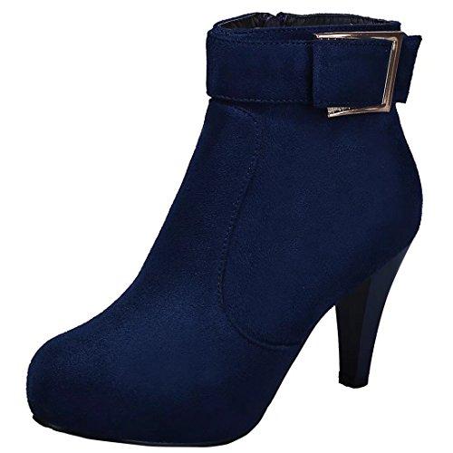 AIYOUMEI Women's Women's Boot Blue Classic Blue Classic Classic Boot Boot AIYOUMEI AIYOUMEI Women's SZAcwTfqx