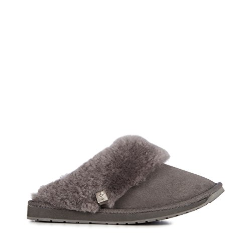 EMU Australia Womens Slippers Platinum Eden Sheepskin Slipper