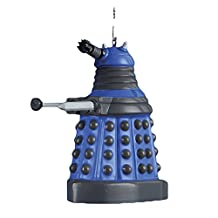 Kurt S Adler Doctor Who Blue Dalek Robot Figural Ornament