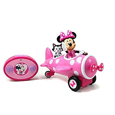 Jada Toys Minnie Mouse Airplane R/C Vehicle: Toys & Games
