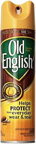 Old English Furniture Polish - Almond Scent 12.5 ounces Aerosol Can