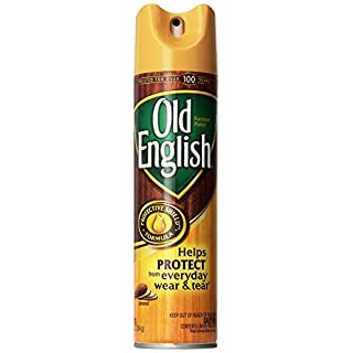 Old English Furniture Polish - Almond Scent 12.5 oz Aerosol Can