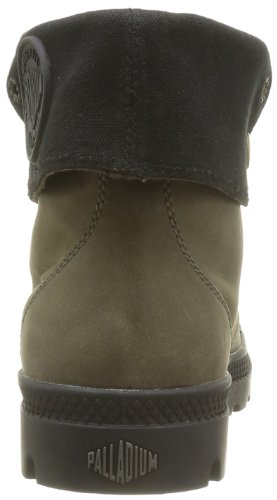 Palladium Baggy Leather F - Botas de cuero Mujer marrón - Marron (Chinchilla)
