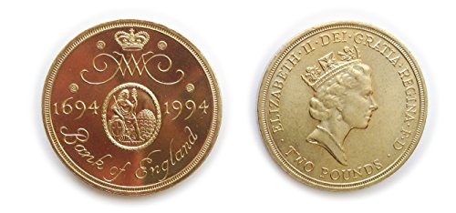 Stampbank Coins collectors - Uncirculated British 1994 Tercentenary the Bank England Two Pounds £2 Coin / Great Britain