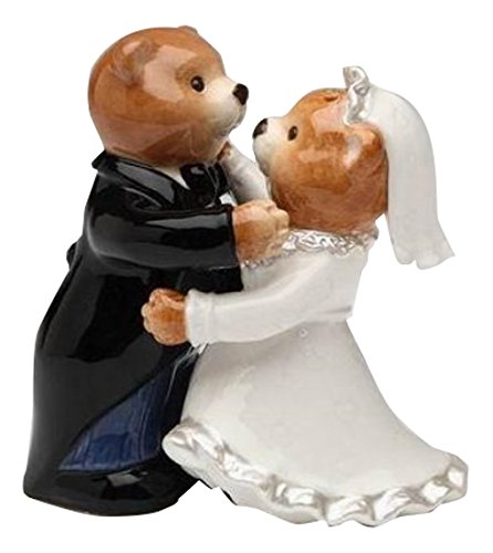 10329 Teddy Wedding Pepper Shakers product image