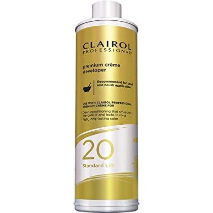 Volume Lift 20 Standard - Clairol Professional Premium Creme 20, Volume Developer, 32 Ounce