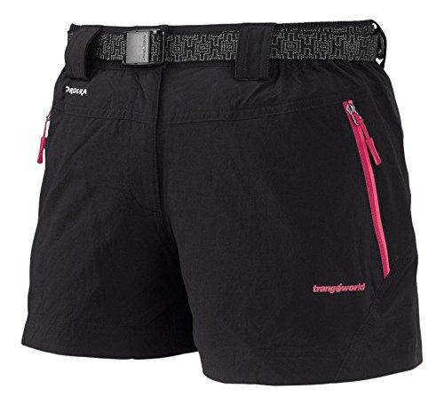 Trango Hadar Fi - Pantalón corto para mujer, color rosa, talla M Negro