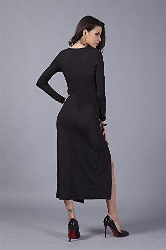 Schwarzes langes kleid xxl