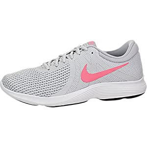 Nike Women's Revolution 4 Running Shoe Pure Platinum Sunset Size 7